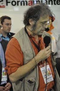 Luc Baillet, Directeur d'ACACIA sur le Village Amiante de Pollutec
