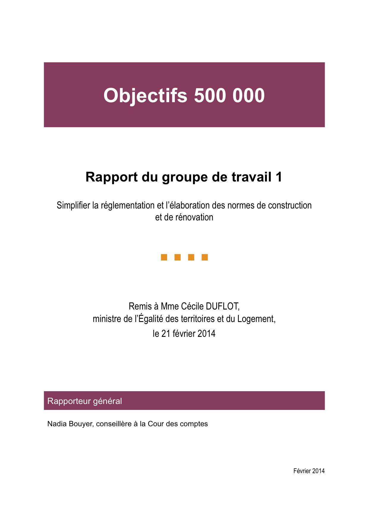 couverture rapport 500 000